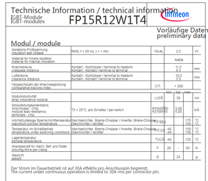 Image 4 - จัดส่งฟรีใหม่และต้นฉบับ FP15R12W1T4 โมดูล