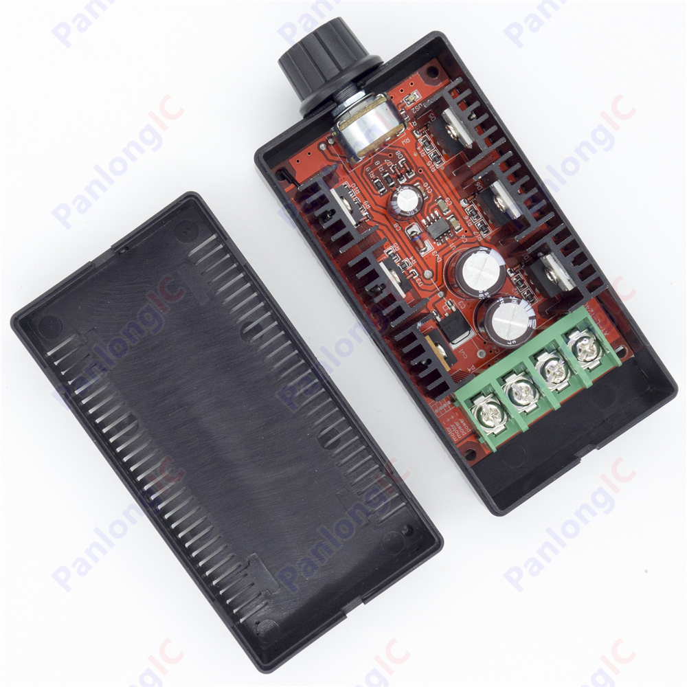 NEW 10-50V 40A DC Motor Speed Control PWM HHO RC Controller 12V 24V 48V 2000W MAX Free Shipping 20a universal dc10 60v pwm hho rc motor speed regulator controller switch l057 new hot