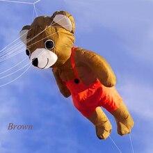 New High Quality  Nylon Cloth Power Bear Windsock For Pilot Kites Good Flying  Kite Festival