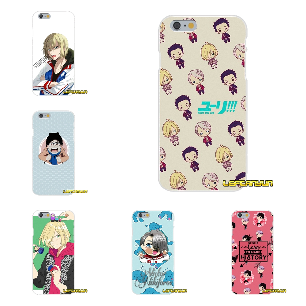 For Samsung Galaxy S3 S4 S5 MINI S6 S7 edge S8 Plus Note 2 3 4 5 Yuri on Ice Soft Phone Cover Case Silicone