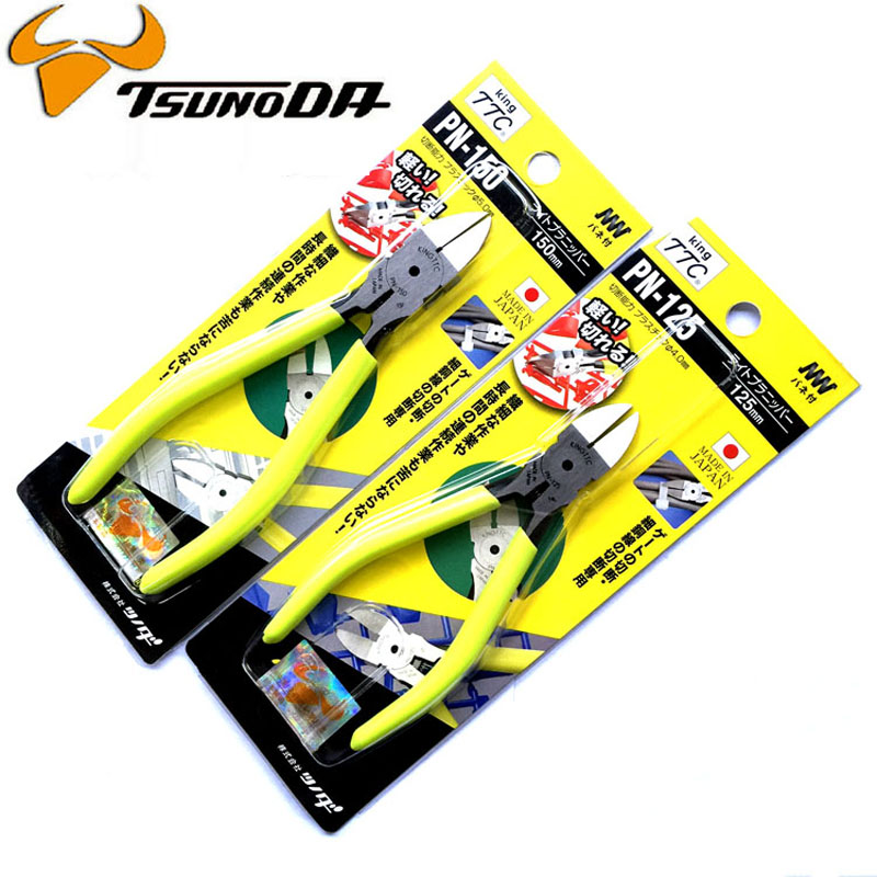 Japan King TTC Diagonal Pliers 5 inch or 6 inch For Cutting Plastic, Copper Wire, Aluminum Cable, Element etc Repair Tools цена