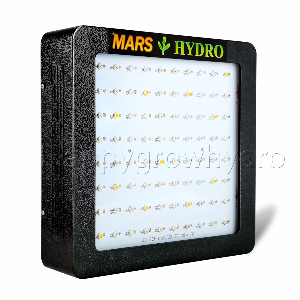 Mars Hydro Mars II 400 Led Grow Light Full Spectrum with IR lights Hydroponics Lamp for