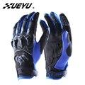 XUEYU мотоциклетные перчатки для мотокросса внедорожные перчатки с полным пальцем мото уличные велосипедные гоночные перчатки защитные Мото...
