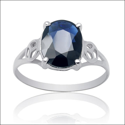 Anillos Qi Xuan_Dark Blue Stone Elegant Ring_Fashion Ring_S925 Solid Silver Fashion Dark Blue Rings_Manufacturer Directly Sales Anillos Qi Xuan_Dark Blue Stone Elegant Ring_Fashion Ring_S925 Solid Silver Fashion Dark Blue Rings_Manufacturer Directly Sales