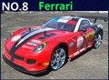 Большой 1:10 RC автомобилей высокоскоростной гоночный автомобиль 2.4 г F599 родстер 4 привод управления по радио спорт дрейф гоночный автомобиль модели игрушка
