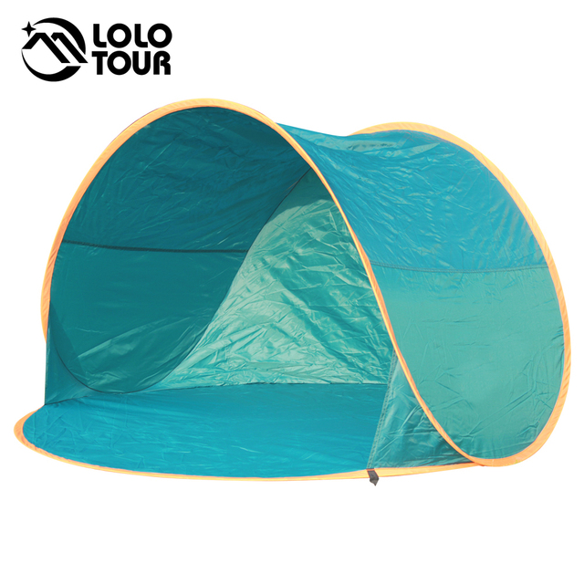 Summer Instant Pop Up Tent Outdoor Gazebo Camping Beach Shelter Awning Fishing UV Sun Shade Quick