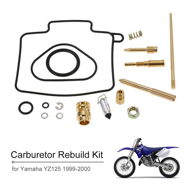 Carburetor Repair Kit Carb Rebuild Kit for Yamaha YZ125 1999 2000-in
