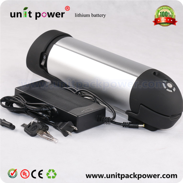 24V 8AH Water bottle  ebike battery Lithium Ion kettle Battery for Electric Bike with BMS and controller box купить