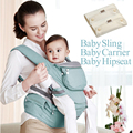 2017 Hot sale Comfortable Ergonomic Infant Sling Soft Natural Wrap Baby Backpack Carrier Breathable Cotton Hipseat Nursing Cover