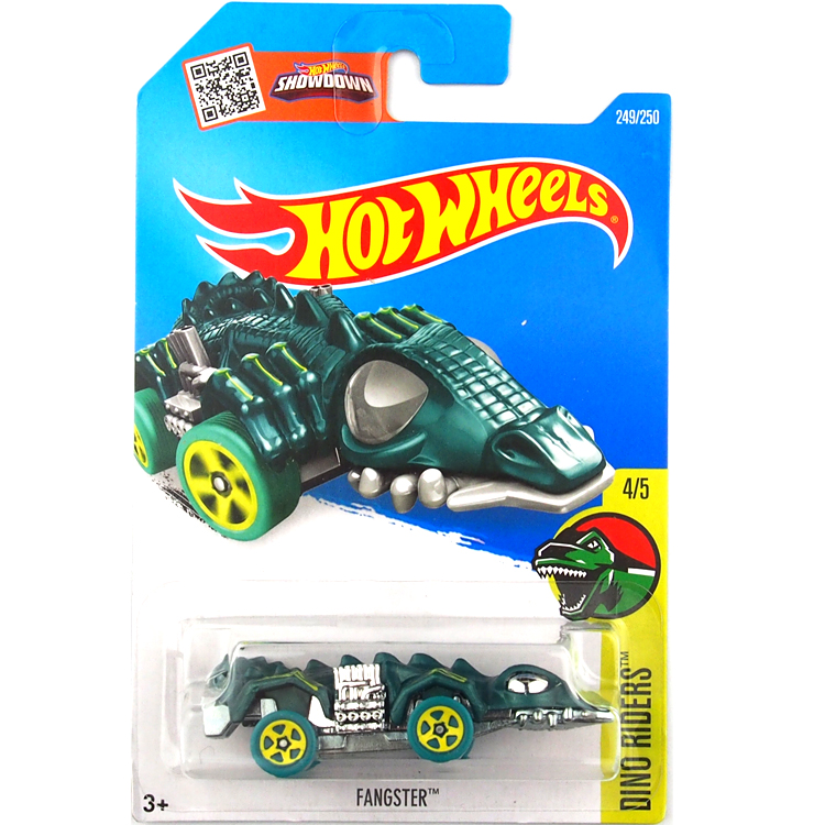 HotWheels Die-casts Dino Riders: FANGSTER/Toy/Mannequin Automotive/2016#249/250