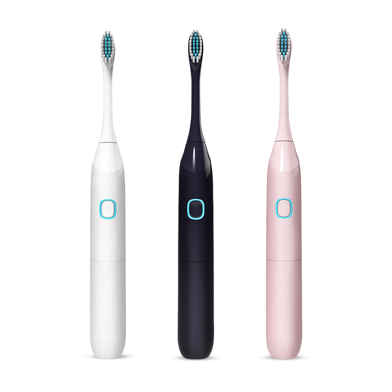 Electric Toothbrush Sonic Waterproof USB Rechargeable Smart Chip Toothbrush Head Replaceable Whitening Healthy Top Quality 38D image