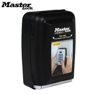 Image 1 - Металлический шкафчик для ключей с кодовым замком, Настенный Шкафчик для ключей с кодовым креплением, Keepr, ящик для хранения для домашней компании, фабричное использование