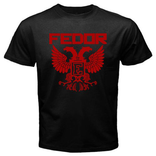 Pride FC Russian Fighter Legend Fedor Emelianenko Last Emperor Tee Mens T Shirts euro sizeS-XXXL