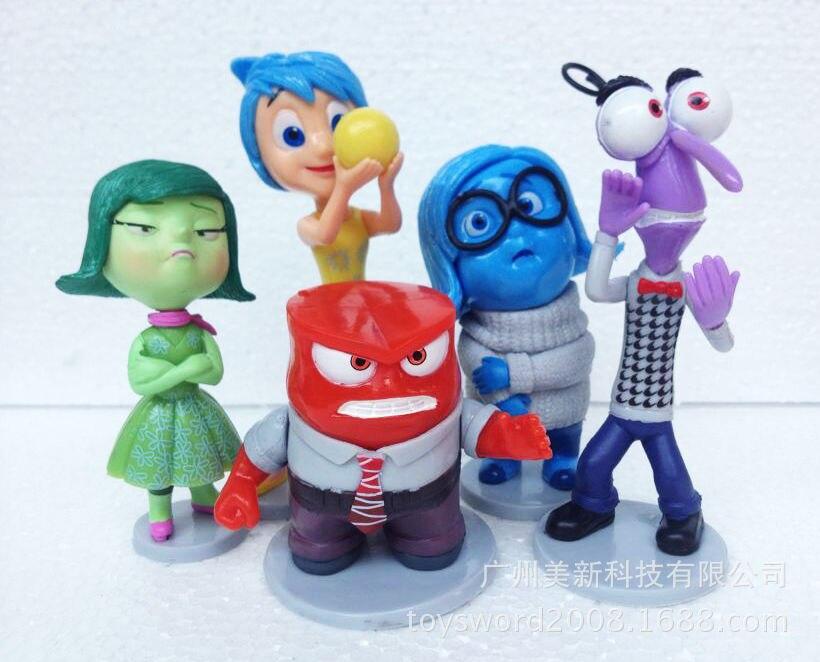 DHL 30set The movie animation <font><b>Inside</b></font> <font><b>Out</b></font> <font><b>PVC</b></font> <font><b>Action</b></font> <font><b>Figure</b></font> <font><b>toy</b></font> <font><b>toys</b></font> dolls