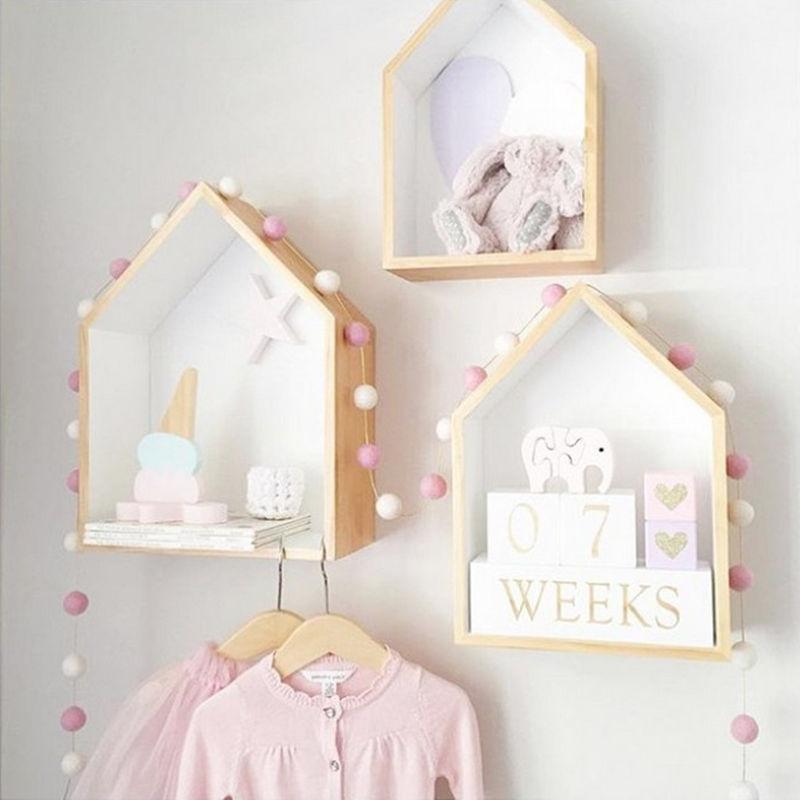 Decoración de bolas de color Macaron hecha a mano de 2,5 M con bolas tienda de campaña para niños y bebés accesorio de decoración de pared