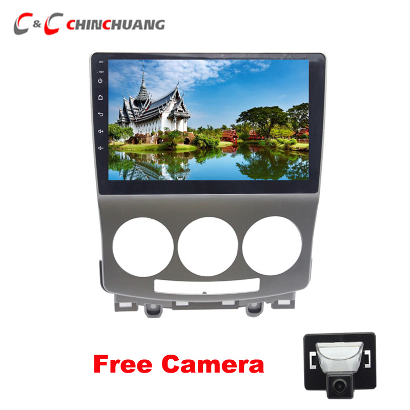 Free Reverse Camera 2 5D lPS Screen 8 core Android 8 1 Car DVD Player for