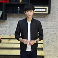 The new spring of 2017 Cultivate one's morality type jacket Adolescent youth popular collar casual jacket