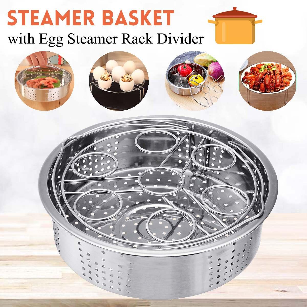 Steamer Basket with Egg…