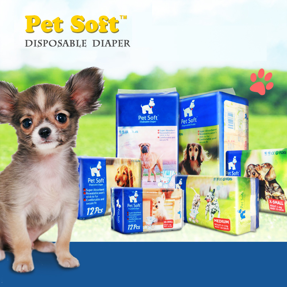 Pet Diapers For Bitch Dogs Jin Mao Teddy Cat Dog Disposable Aunt Sanitary Napkins Physiological Pants Pet Diaper Pad Braga Perro