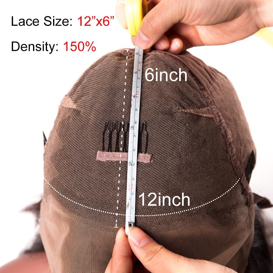 Peruvian Straight Human Hair Wigs 150% Density Lace Front Human Hair Wigs For Women 6x12 Lace Wig With Baby Hair Non Remy Beyo