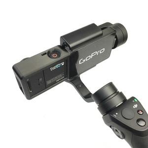Image 5 - GOPRO HERO 4 3/3 + อะแดปเตอร์ Mount PLATE สำหรับ DJI OSMO MOBILE Gimbal กล้อง
