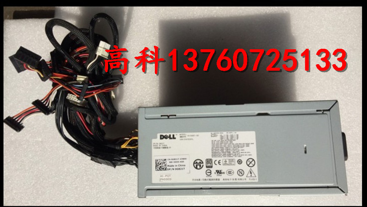 Free shipping New color Original DELL T7500 workstation power supply H1100EF 00 1100W 0G821T