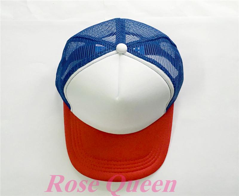 New Stranger Things Drama Dustin Cap Recover Cosplay Snapback Caps Baseball  Mesh Net Trucker Hat adjustable b1e4250782a