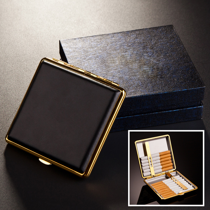 Online Buy Wholesale leather cigarette case from China ...