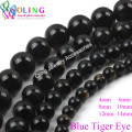 2017 New 6 8 10 12mm Round Blue Tiger Eye Beads Natural Stone Bead Spacer Loose Bead For DIY Bracelet Jewelry making Findings
