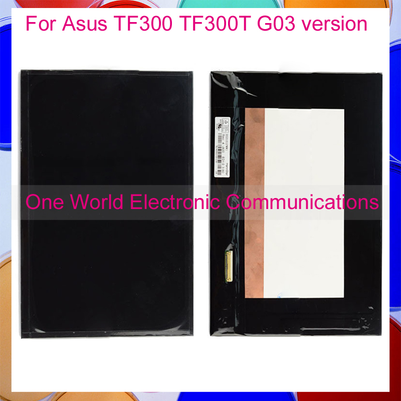 ФОТО Tested For Asus Transformer Pad TF300 TF300T G03 Version Tablet PC LCD Display Screen Monitor Sensor Replacement Tracking Code