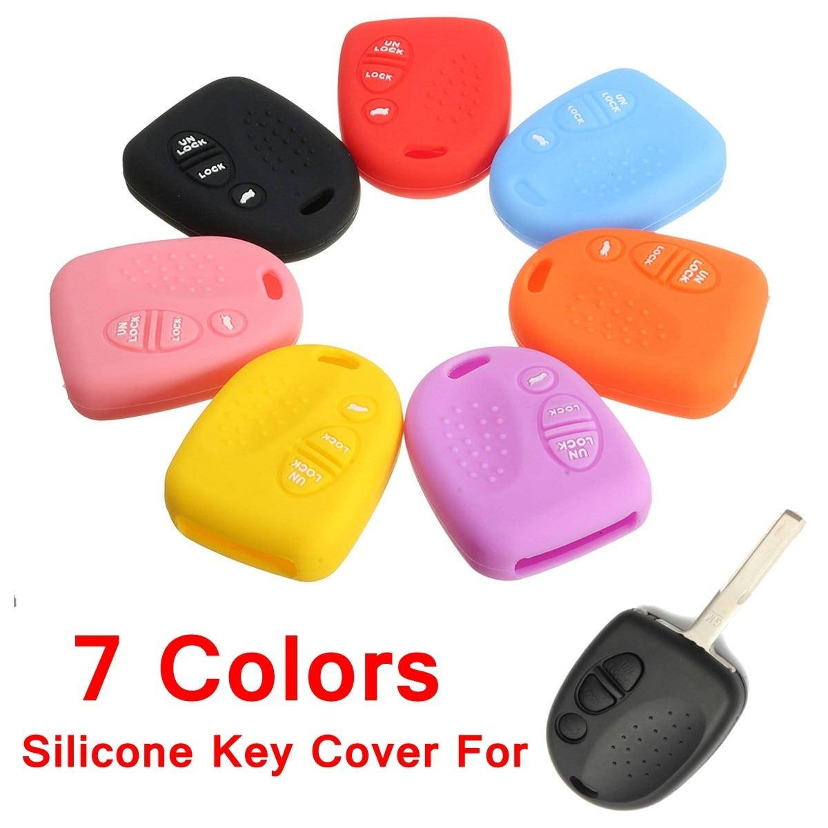 Силиконовый корпус дистанционного ключа автомобиля крышка для Holden Commodore WH WK WL VS VT VX VY VZ 3 кнопки