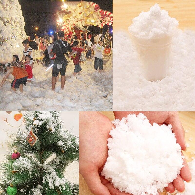 Christmas Magic Snow Powder Instant Xmas Tree Decorations ...