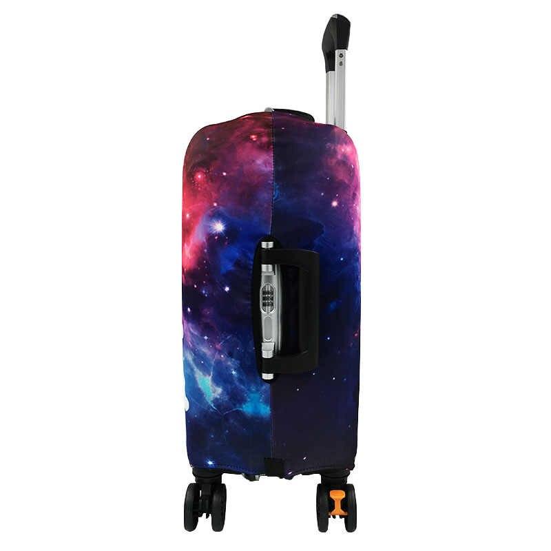 REREKAXI дорожный 3D шаблон эластичный защитный чехол для багажа, 19-32 дюймов пылезащитный чехол для чемодана, тележка для багажа оболочка