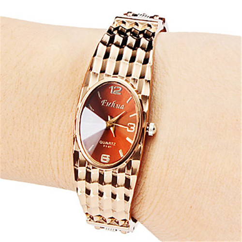 Hot Design Luxury Rhinestone Bracelet Watch Fashion Rose Gold Quartz-watch Women Watches Clock Mujer Relogio Feminino Crystal