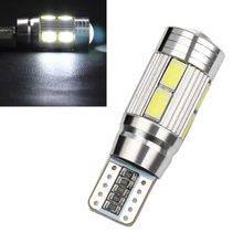 CYAN SOIL BAY W5W 10 led 5630 5730 SMD Projector Lens Canbus Error Free auto Clearance tail Lights T10 CAR Wedge NO OBC ERROR