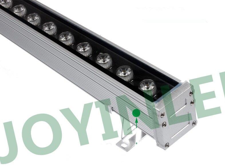 18 W 24 W 30 W 55*60*1000 MM IP65 mur LED laveuse lampe extérieure étanche paysage lumière linéaire bar lampe blanc chaud/blanc/RGB