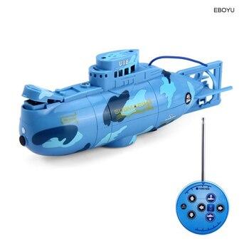 Create Toys 3311 6CH Speed Radio Remote Control Submarine Electric Mini RC Submarine Kids Children Toy