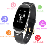Sport Smart Bracelet Heart Rate Smart Band Fitness Tracker Wristband Women Watch for iOS Android pk xiomi mi band 3 m2 fit bit