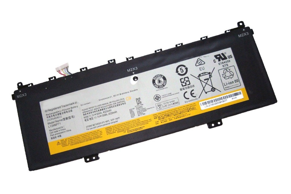JIAZIJIA 11.1V 50Wh L13M6P71 Battery For Lenovo IdeaPad Yoga 2 13 Series