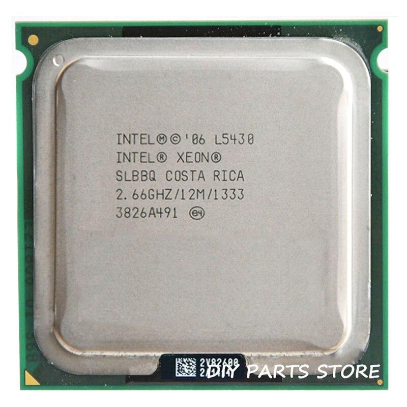 INTEL XONE L5430 CPU INTEL L5430 PROCESSOR Quad Core 4 Core  2.67 MHZ LeveL2 12M  Work On 775