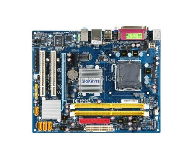 Original motherboard für Gigabyte G31M-S2L G31 DDR2 LGA 775 G31 Desktop mother Freies verschiffen