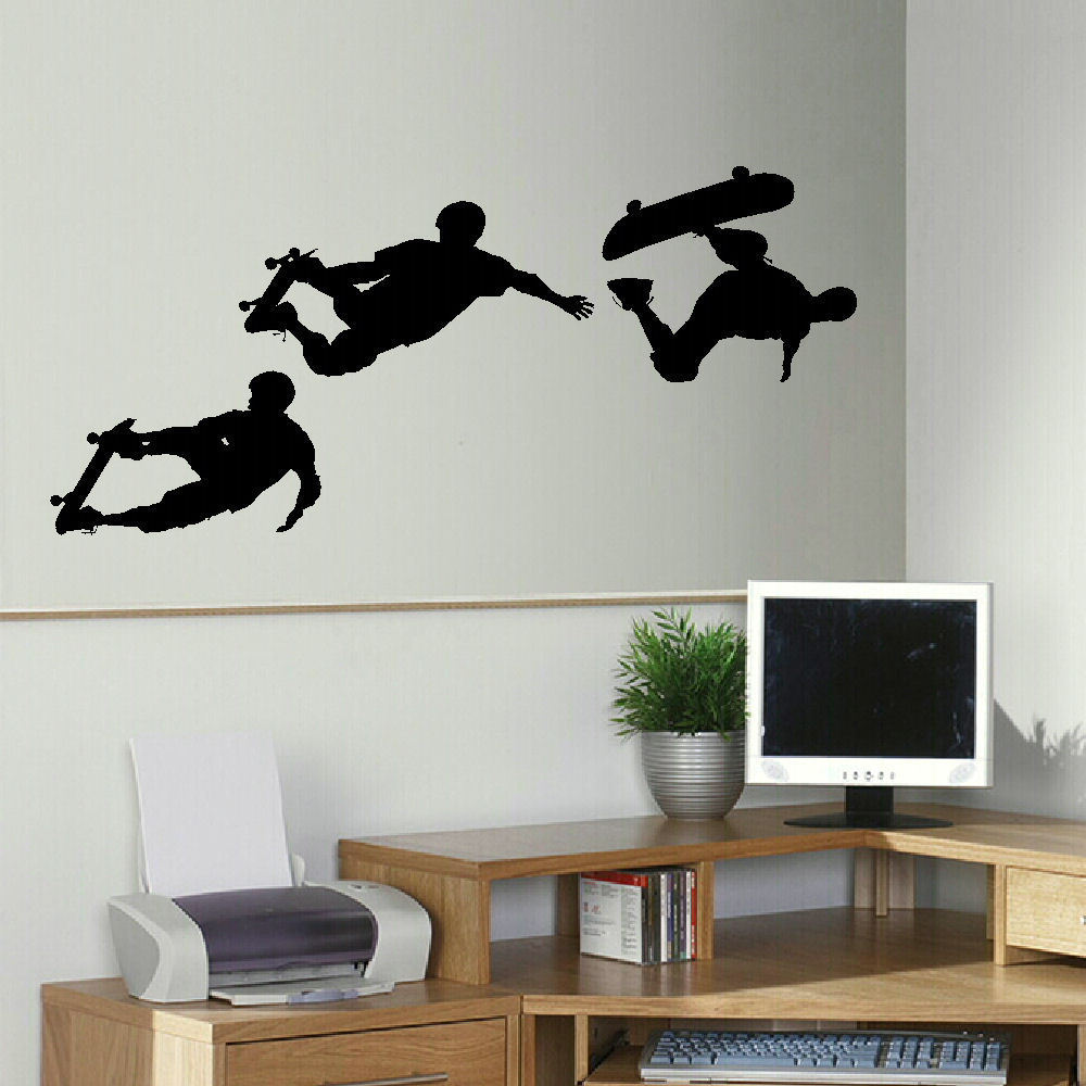 Online get cheap skateboarding wall murals for Cheap wall mural posters