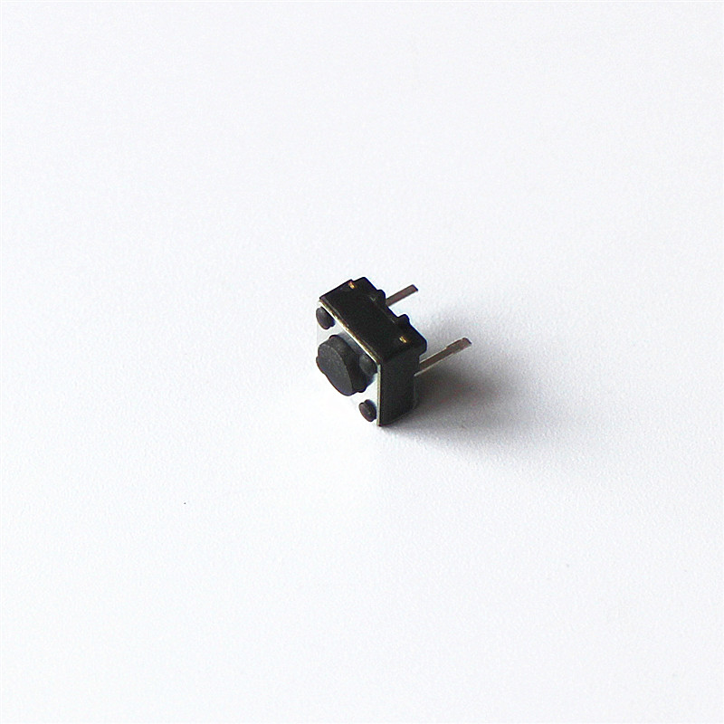 10pcs/lot 6*6*4.3mm Micro Square Switch 6X6X4.3H Two Feet Mini Push Button Switches 6x6x4.3 50pcs lot 6 6 7 5 mm 4 pin tactil tact 12v push button interruptor micro switch direct plug in self reset top