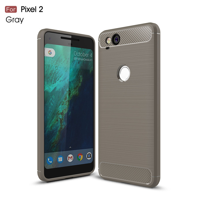 Carbon Fiber Case For Google Pixel 2 2XL 3 XL Case Luxury Slim Armor Soft Silicone Phone Back Cover For Pixel 3XL Coque