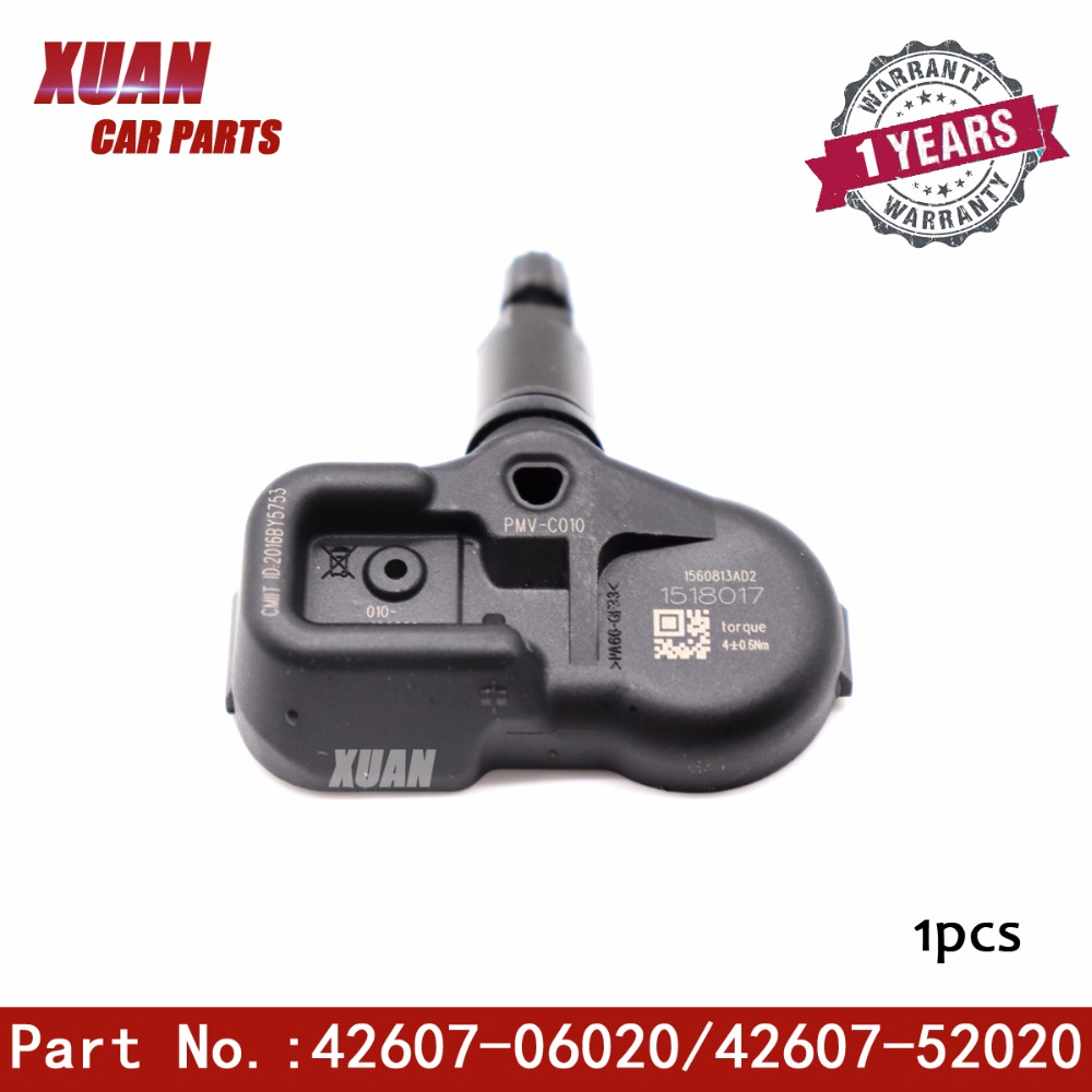 1 Pcs Reifen Druck Monitor Sensor Tpms Für Toyota Avalon Camry Corolla Yaris Rav-4 Highlander Prius C V Prime Rav4 Scion Im Reines Und Mildes Aroma
