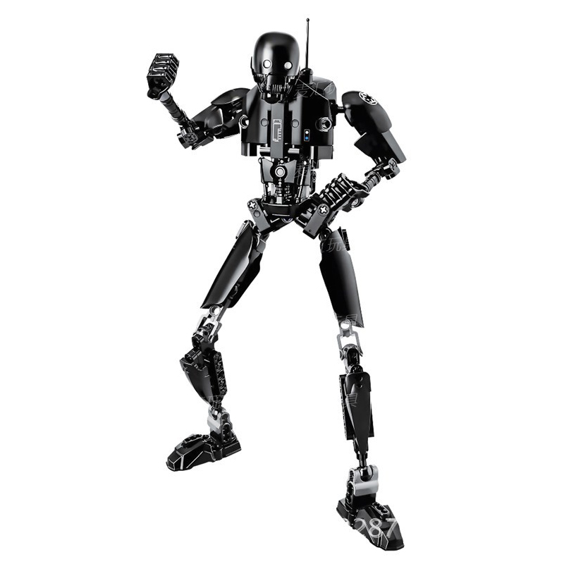 Blocks Star Wars Buildable Action Figure Toys for Kids 5