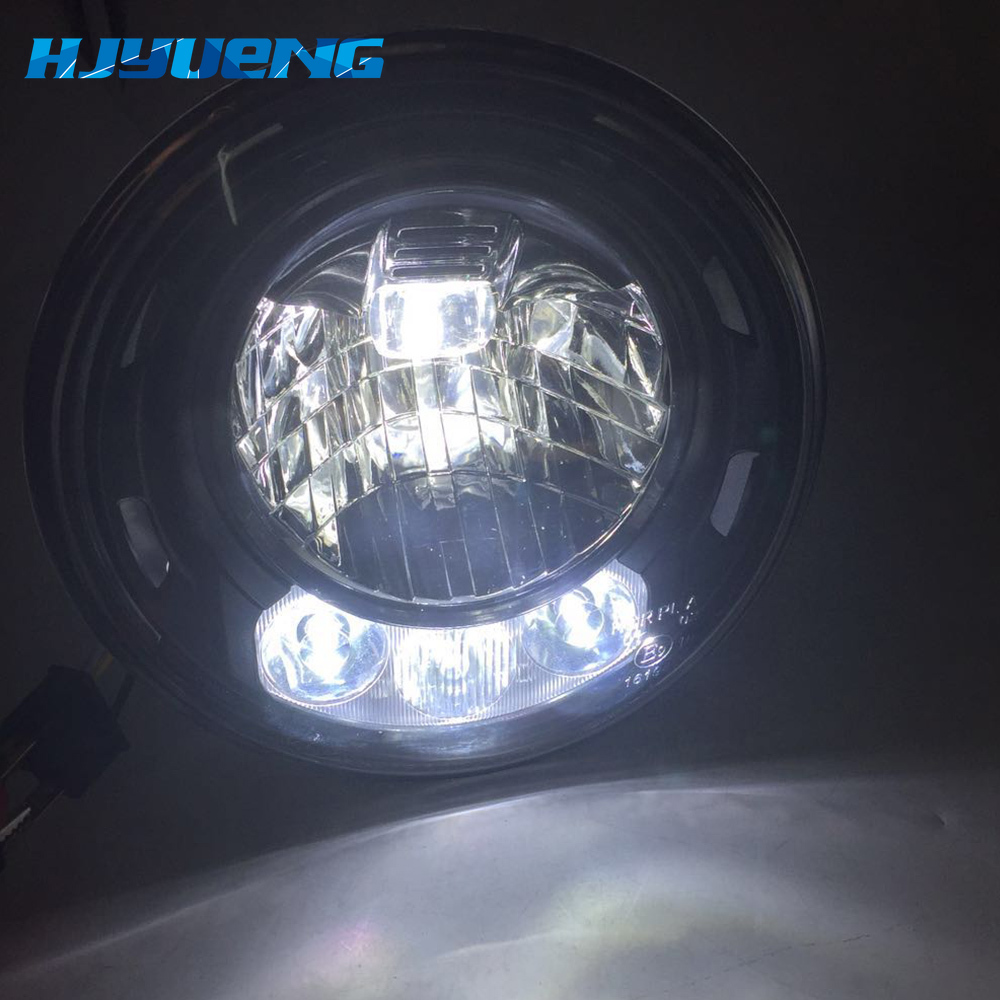 Image 3 - 2pcs For Wrangler JK 2 Door 2 Hummer H1 H2 7inch LED Headlights For Lada 4x4 urban Niva 2007~2016 For Suzuki Samurai-in Car Light Assembly from Automobiles & Motorcycles