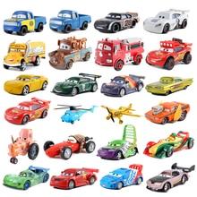 Disney Pixar машина 3 машинный гараж из 2McQueen матер Джексон Storm Ramirez 1:55 литого металла сплава Модель автомобиля детские игрушки рождественские подарки