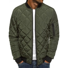 ZOGAA Hot Sale Men High Quality Autumn Winter Warm Outwear Brand Slim Mens Coats Eden Casual Windbreak Jackets M-3XL
