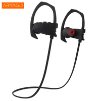 ARYAGO Wireless Bluetooth Headphone Neckband Sport Stereo Headset Waterproof Consumer Electronics Music Phone Portable